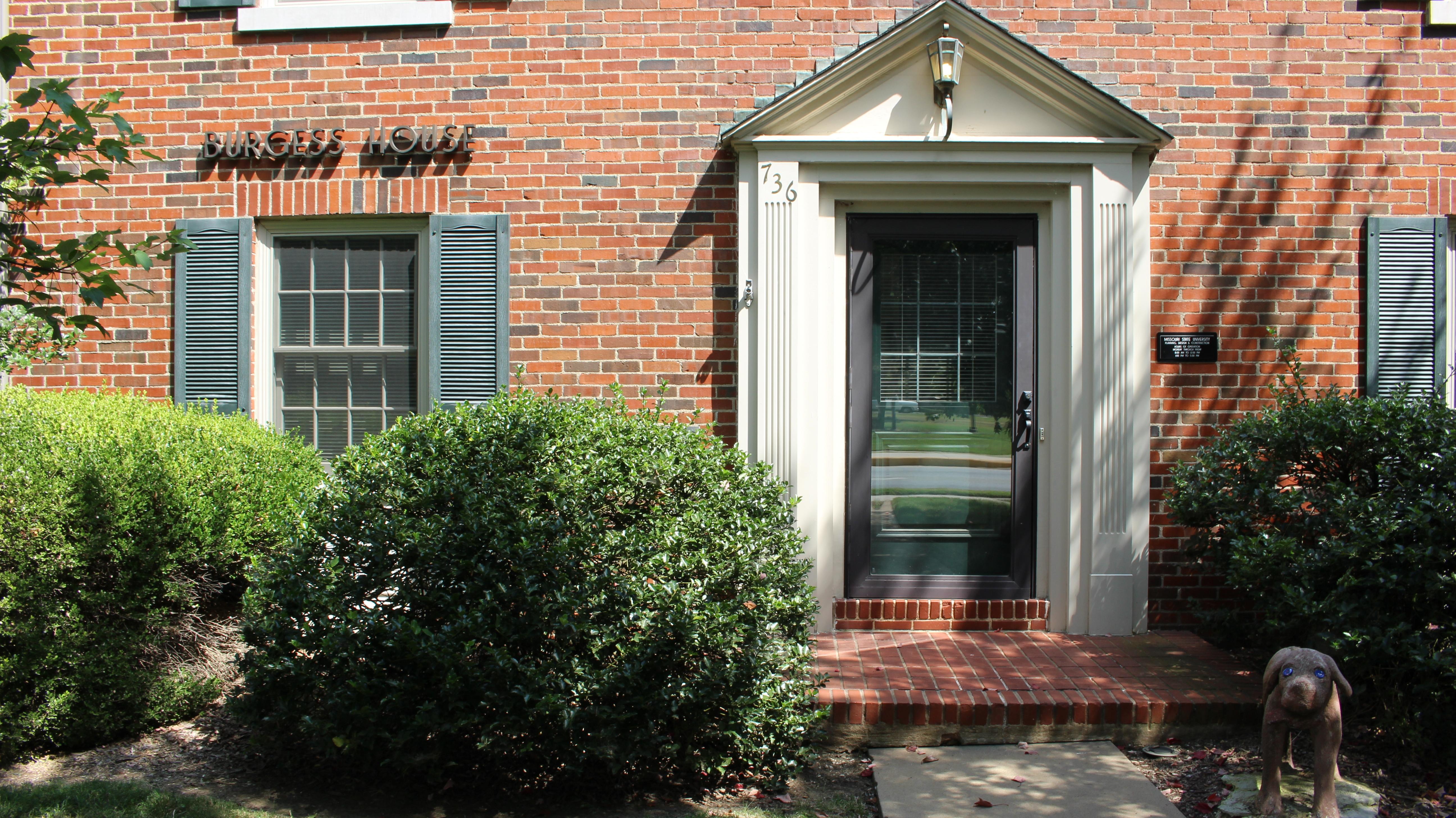 Burgess House Front Entrance